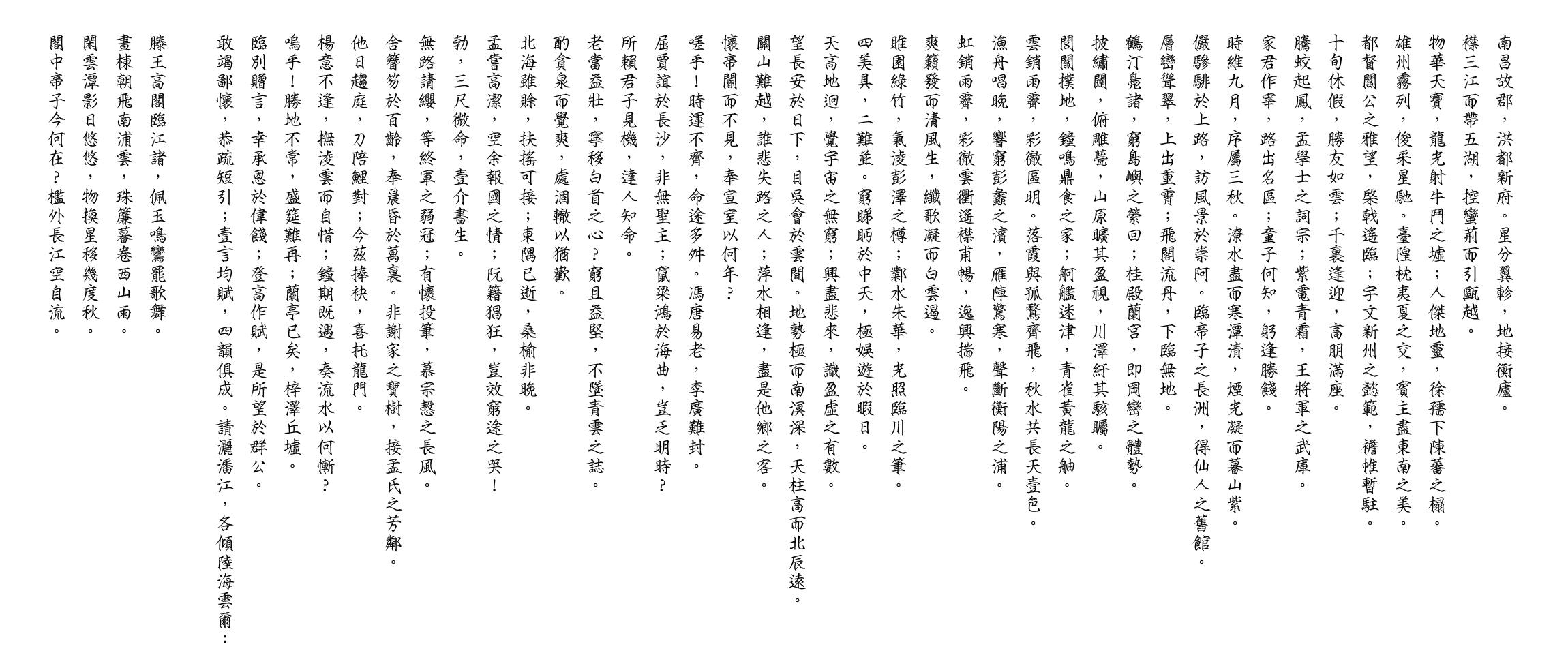徽宗体-滕王阁序.png